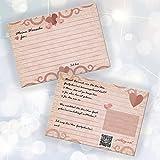galleryy.net 52 Postkarten Hochzeit – PORTOFREI möglich – Postkarten Set Hochzeit mit 52 Karten zur Hochzeit. Hochzeitsspiele mit Karten für Gäste und Brautpaar. Gute Wünsche Karten Vogel