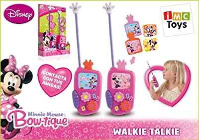 IMC TOYS 704074 - Minnie Walkie Talkie de IMC TOYS