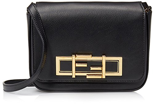 Fendi-Womens-Shoulder-Bag-Black