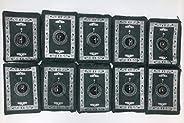 Smart Home Pocket Prayer Mat BUNDLE OF 10 Portable Prayer Rug Waterproof Material Light Weight with Simple Qib