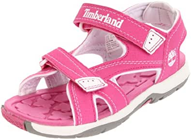 Timberland Mad River 2 Strap, Unisex-Child Sandals, Pink/Tree, 1.5 UK Child