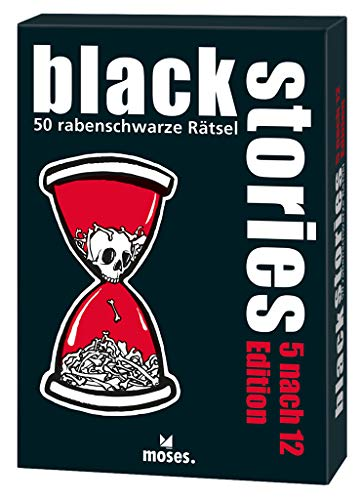 black stories 5 nach 12 Edition: 50 rabenschwarze Rätsel