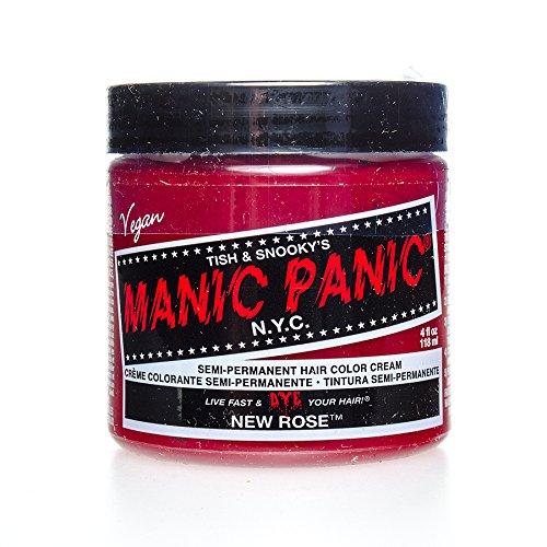 Manic Panic High Voltage Classic Cream Formula Hair Color New Rose 118ml