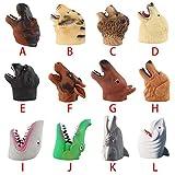 Omiky® Handschuhe Spielzeug,Handpuppen Rollenspiel Realistische Handschuhe Stofftier Handpuppe (J)