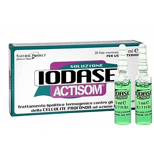 IODASE - IODASE ACTISOM 20 FIALE DA 5 ML