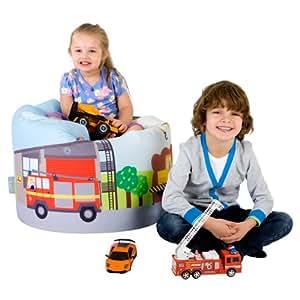 Pouf Poire Designer ICON- Poufs Poire imprimé pour enfant intérieur / extérieur