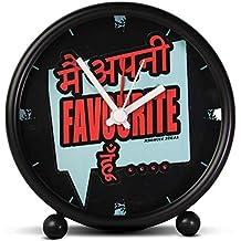 Aswhole Ideas Funny Main APNI Favourite Hoon Alarm/Table Clock for Home Décor/Office
