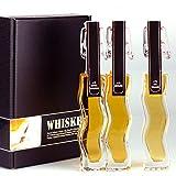 Geschenkset/Probierset Whisky/Whiskey Set. Die Geschenkidee für Whisky/Whiskey-Liebhaber, in Geschenkbox
