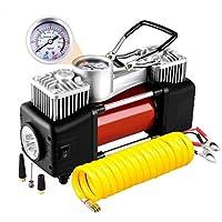 YLWB LEWWB Compresor de Aire, Bomba de neumático portátil 12V 300 PSI Auto Meter neumático