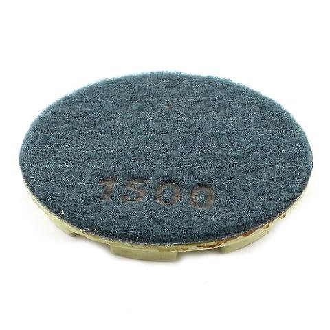 Sourcingmap a13092300ux10227,6cm Diamètre Grain 1500Pierre Béton diamant Polissage Pad