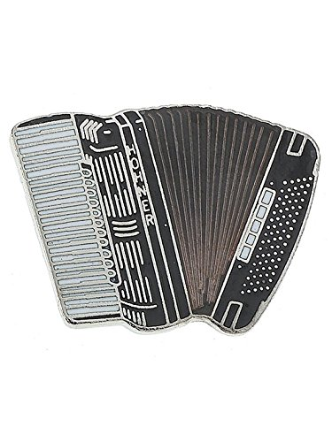 Mini Pin: Accordion (Black). Für Akkordeon