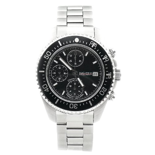 Nautec No Limit Herrenarmbanduhr Deep Sea Chronograph DS-A 8850/STBK