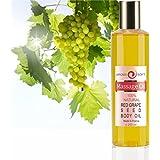 Aceite de UVA Aceite de Masaje de Pepitas de Uva 100% Natural - Relajación y Después del baño 200 ml - Sin Perfume - made in France