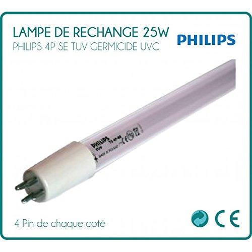 Lampe de rechange 25W Philips pour stérilisateur UV