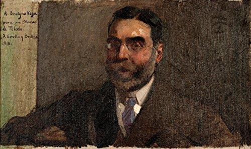 Das Museum Outlet-joaquõn Sorolla y 'Bastida-Porträt der Marquis von vega-inclàn-Poster (mittel)