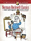 Creative Haven Norman Rockwell's Saturday Evening Post Classics Coloring Book (Adult Coloring)