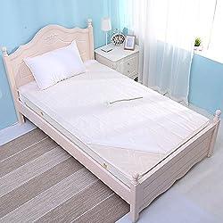 Bonytain - Sábana bajera desechable de 200 x 180 cm, antisuciedad, portátil, para viaje, hotel, ropa de cama, impermeable, masaje y belleza