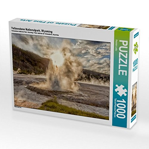 Yellowstone Nationalpark, Wyoming 1000 Teile Puzzle quer