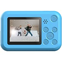"""SJCAM FunCam 2"""" LCD Kids HD Digital Action Camera with in-Built Games for Children & Adult Kids (Yellow)"""