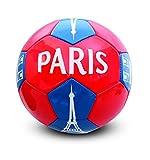 Holisport - HP04592 - Ballon de Football 'Paris' - Mixte - Multicolore...