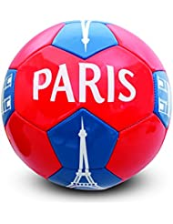 HOLISPORT HP04592 Ballon de Football Mixte Enfant, Rouge/Bleu