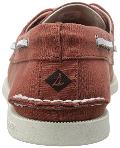 Sperry Herren A/o 2-Eye Canvas Bootschuhe Rot