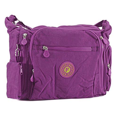 YourDezire - Sacchetto donna Purple