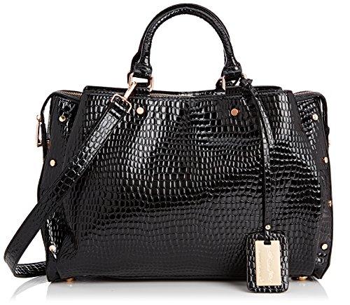 SwankySwans  Ashton Croc Patent Leather Work,  Damen Tasche (Patent Leder-shopper)