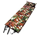 Tappetino da picnic Cuscino gonfiabile ad aria con cuscino attaccato, leggero, impermeabile, autogonfiante e compatto materassino da campeggio in colore mimetico