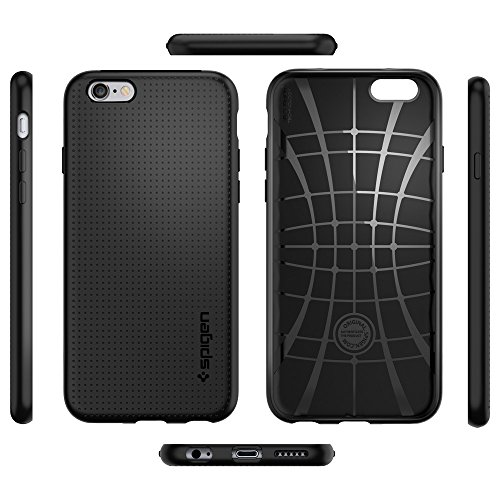 best service 6b8ea 2b490 iPhone 6s Case, Spigen® iphone 6 case cover [Liquid Armor] [Black ...