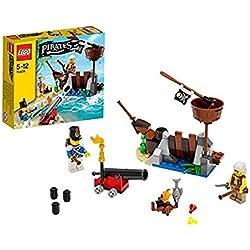 LEGO - Juguete de barco pirata.