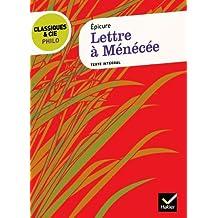 Lettre à Ménécée (Épicure)