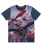 Dragons Jungen T-Shirt - marine blau - 152