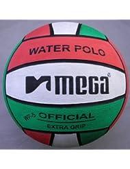 Water Polo Ball. Mega. Red-White-Green design. Size 4