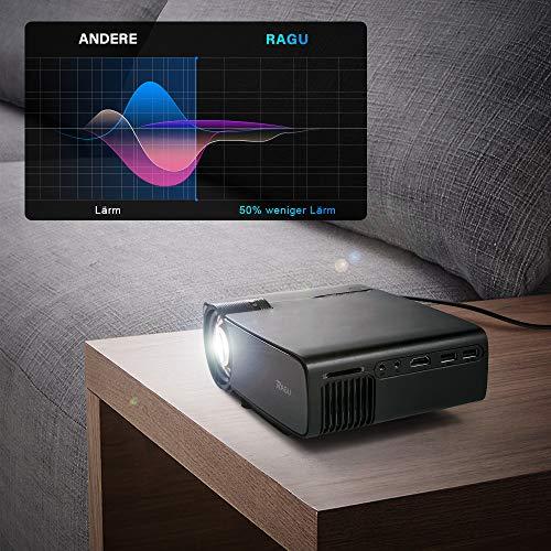 RAGU Z400 Mini Full HD Beamer + 50,000 Stunden - 3