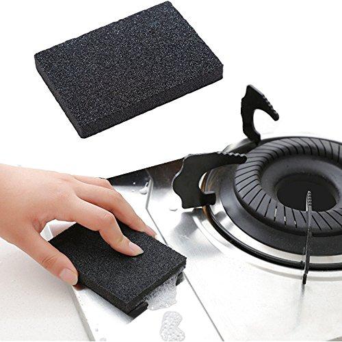 Syeytx Nano Emery Magic Reinigen Reiben Topf Rost Brennflecken Küchenschwamm Entfernen Kit
