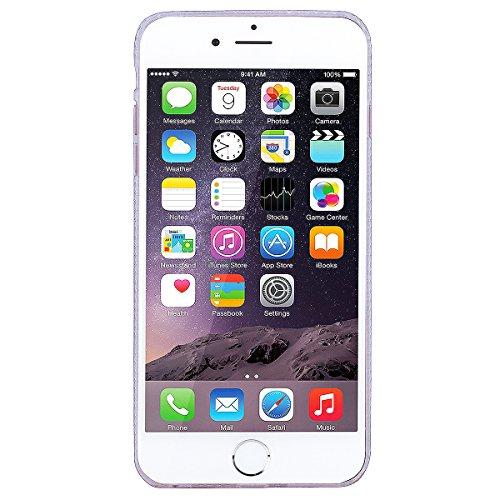 WE LOVE CASE Coque iPhone 6, Coque Diamante Bling Sparkle Brillant Glitter de Protection en Premium Hard Plastique Dur Coque iPhone 6S Anti Choc Bumper, Anti-Rayures Anti-dérapante Coque Apple iPhone  Or