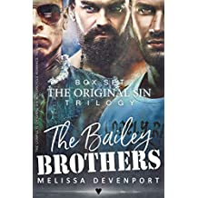 The Bailey Brothers Box Set: The Complete Original Sin Motorcycle Romance Trilogy (English Edition)