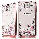 HB-Int Strass Weich TPU Hülle für Samsung Galaxy Note 3