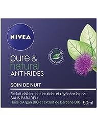 Nivea Pure et Natural Soin de Nuit Anti-Rides 50 ml