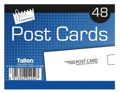 Tallon Just Stationery 140x100mm Post Card (Pack of 48) Test