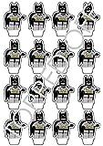 16 Lego Batman aufstehen essbaren Kuchendeckel Dekorationen