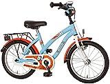 Bachtenkirch Kinder Fahrrad RACY, hellblau/orange, 16 Zoll, 1300442-RC-67