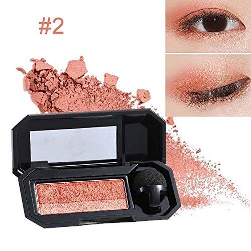Bluelover Farbe Augenschatten Makeup Farb Palette Perfekte Glitter Lidschatten Schatten Kosmetik - 2