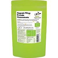 Proteina Organica Polvo 1kg de Suero de Leche Bio Whey Protein Concentrate Powder Organic Daisy 1000g
