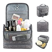 SENWOW Travel Hanging Toiletry Makeup Cosmetic Bag Waterproof Organizer for Men and Women Accessories Toiletry Kit with Dry and Wet Separation 2-Layer Design