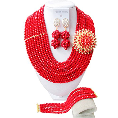 laanc-fashion-10-rows-nigerian-red-beads-necklace-bracelet-earrings-african-wedding-party-jewellery-