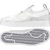 adidas Damen Superstar Slip-On Fitnessschuhe, Weiß Ftwbla/Negbas 000, 39 1/3 EU