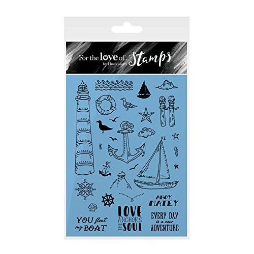 Hunkydory-per l' amore di francobolli-Ahoy Matey