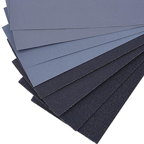 120 bis 3000 Grit Sandpapier für Automobil Schleifen, Holz Möbel Finishing, 32 Stück - 4